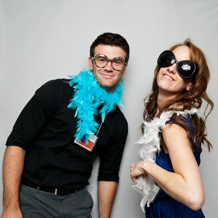 Adding fun to business events, 1 Photo Booth at a time