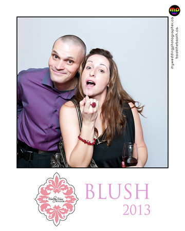 Book The Booth at the Cube Gallery for BLUSH 2013.